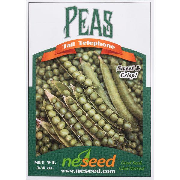 Tall Telephone Shelling Pea Seeds